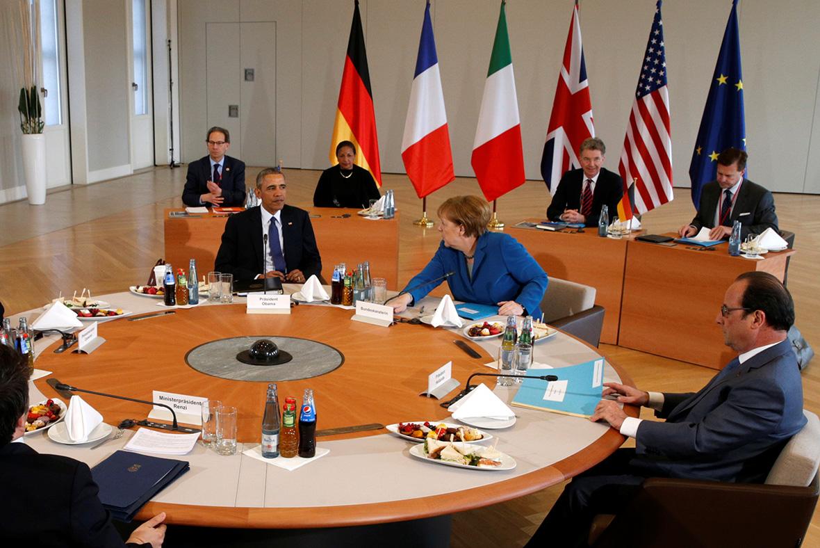 Obama EU leaders