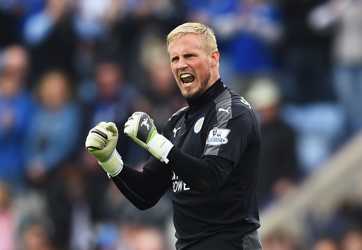 Kasper for Schmeichel sale target says not Barcelona