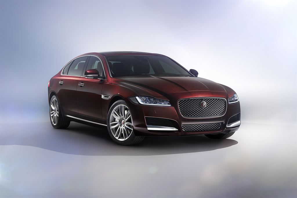 Beijing Auto Show: Jaguar Land Rover unveils all-new Jaguar XF Long wheelbase (XFL)