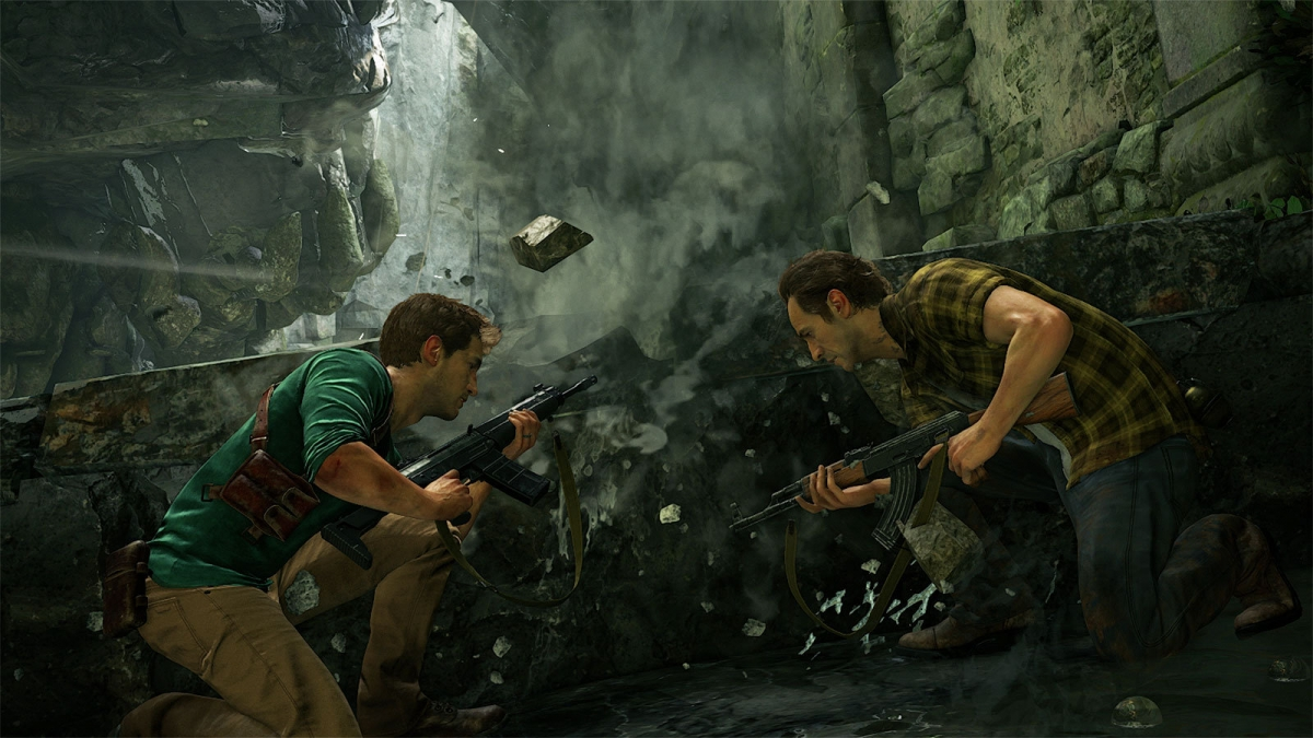 Uncharted 4 screen