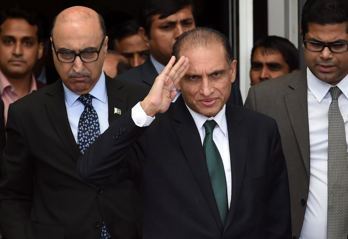 Pakistan Foreign Secretary Aizaz Ahmad Chaudhry