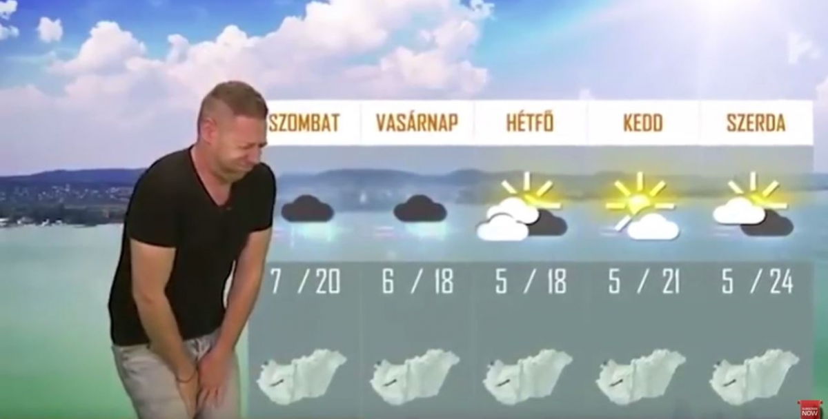 Farting Hungarian Weatherman