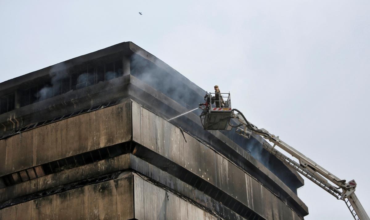 Delhi museum fire