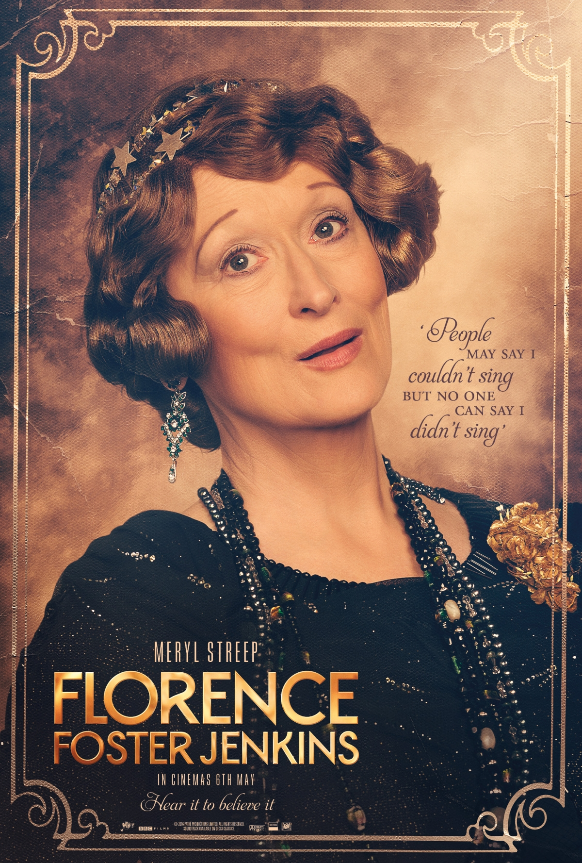 Florence Foster Jenkins poster