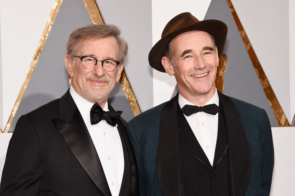 Steven Spielberg and Mark Rylance