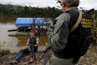 Amazon illegal gold mining
