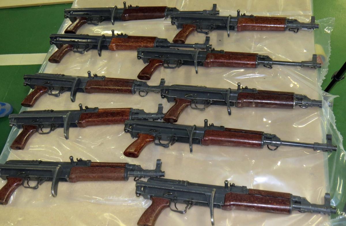 NCA weapons haul