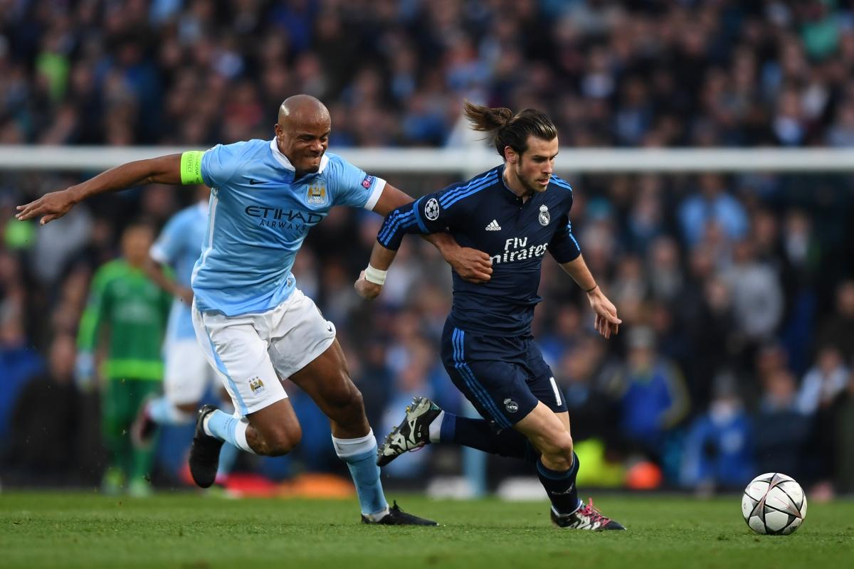 Gareth Bale on the ball