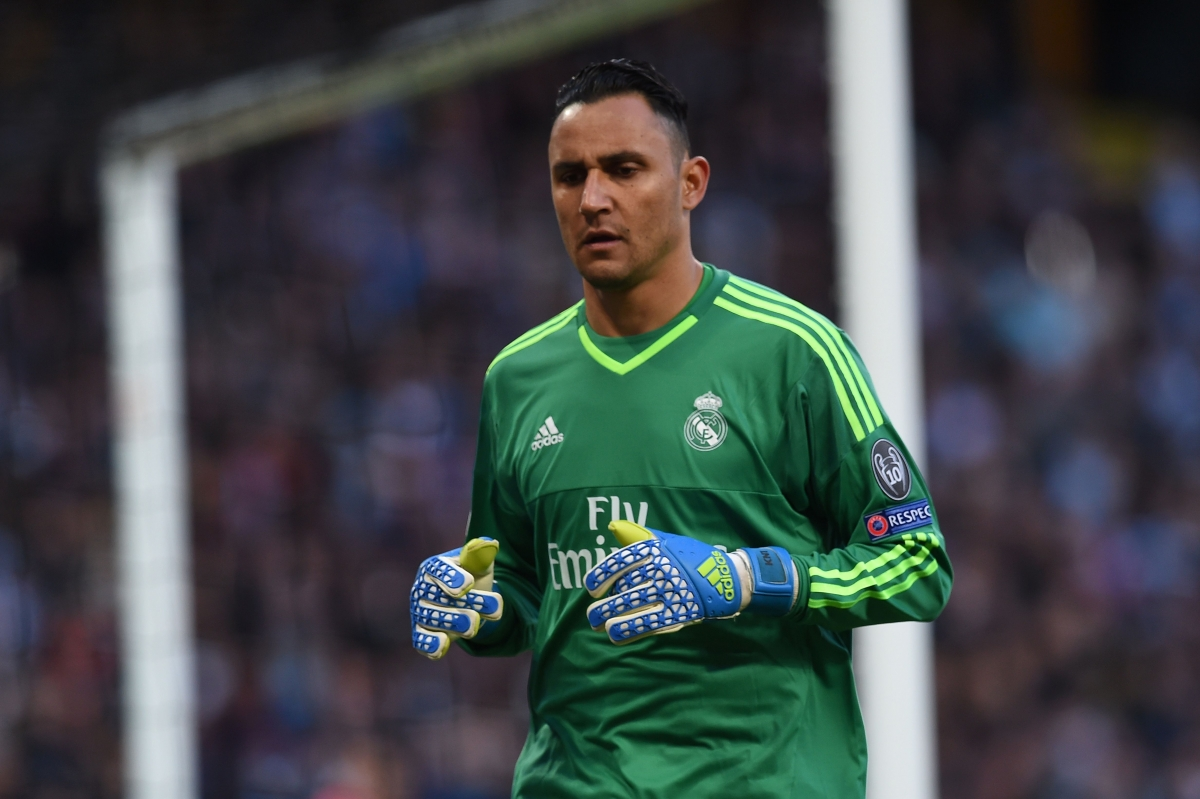 Keylor Navas was barely tested