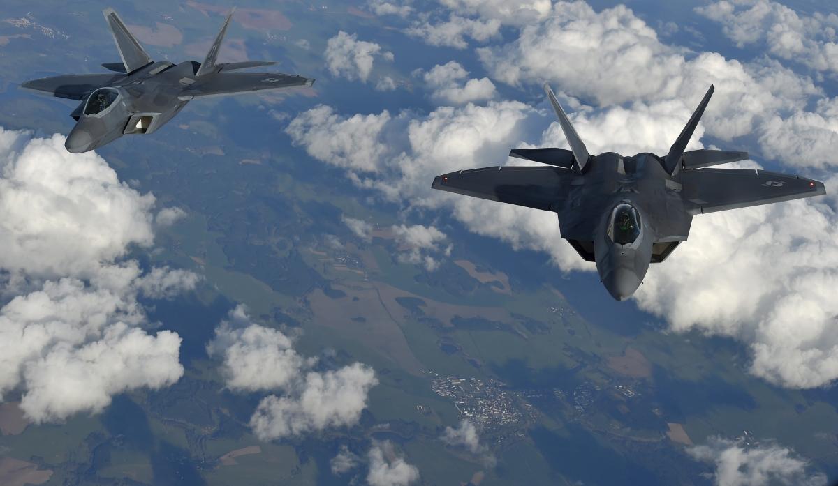 F-22's