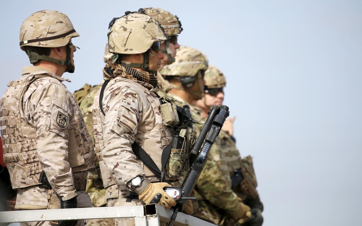 Besmaya military base, Baghdad