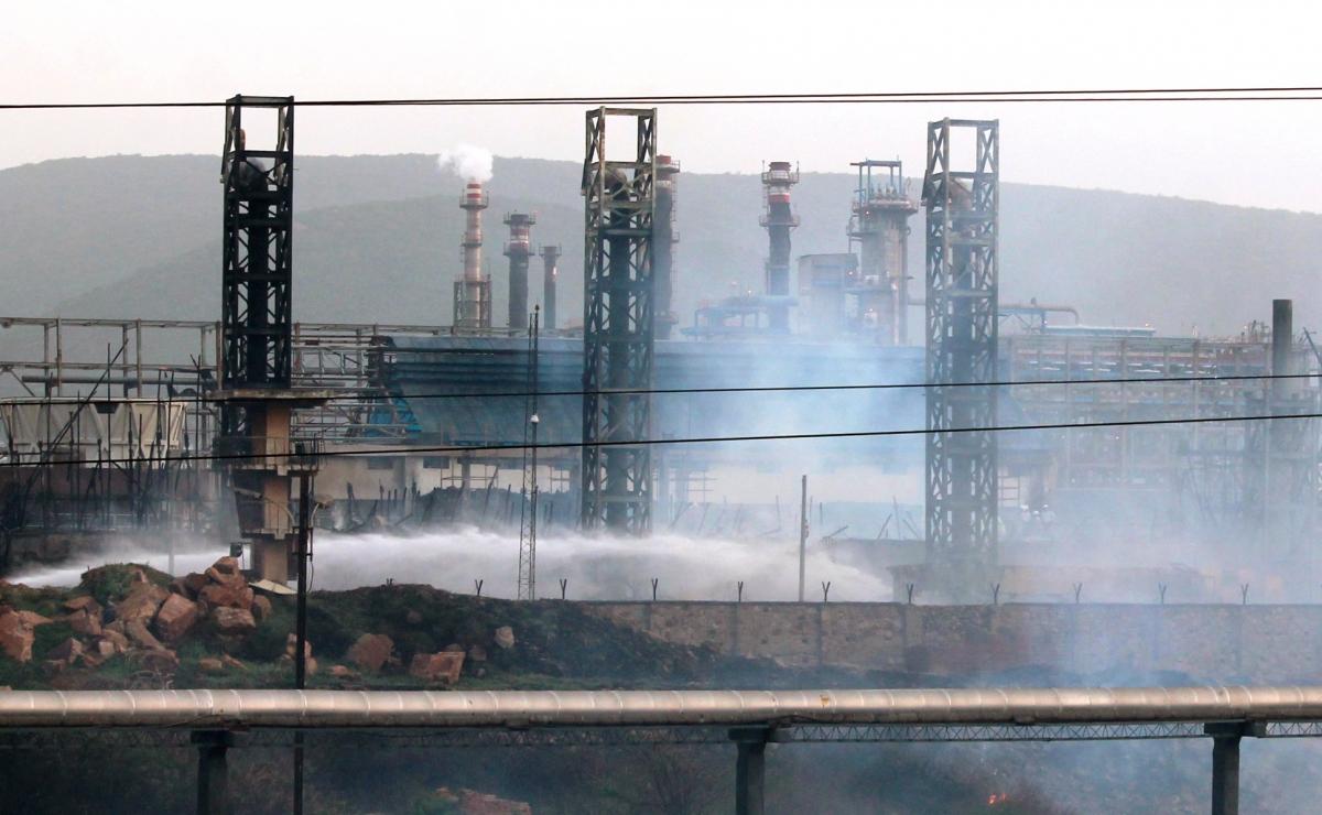Visakhapatnam biodiesel plant fire