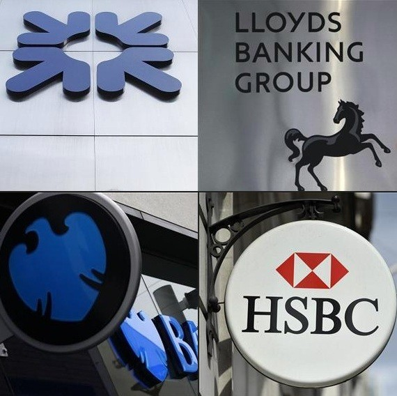 Barclays, HSBC, Lloyds and RBS face £19.5bn in fines, compensation and legal expenses