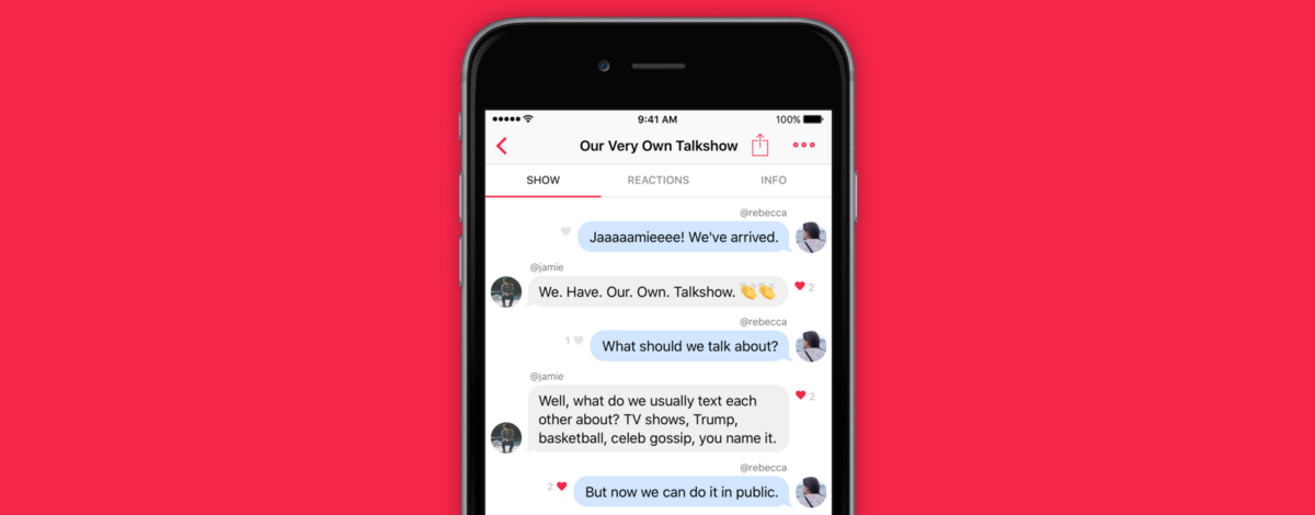Talkshow app: The latest Taylor Swift inspired viral app sensation to hit the internet since Twitter