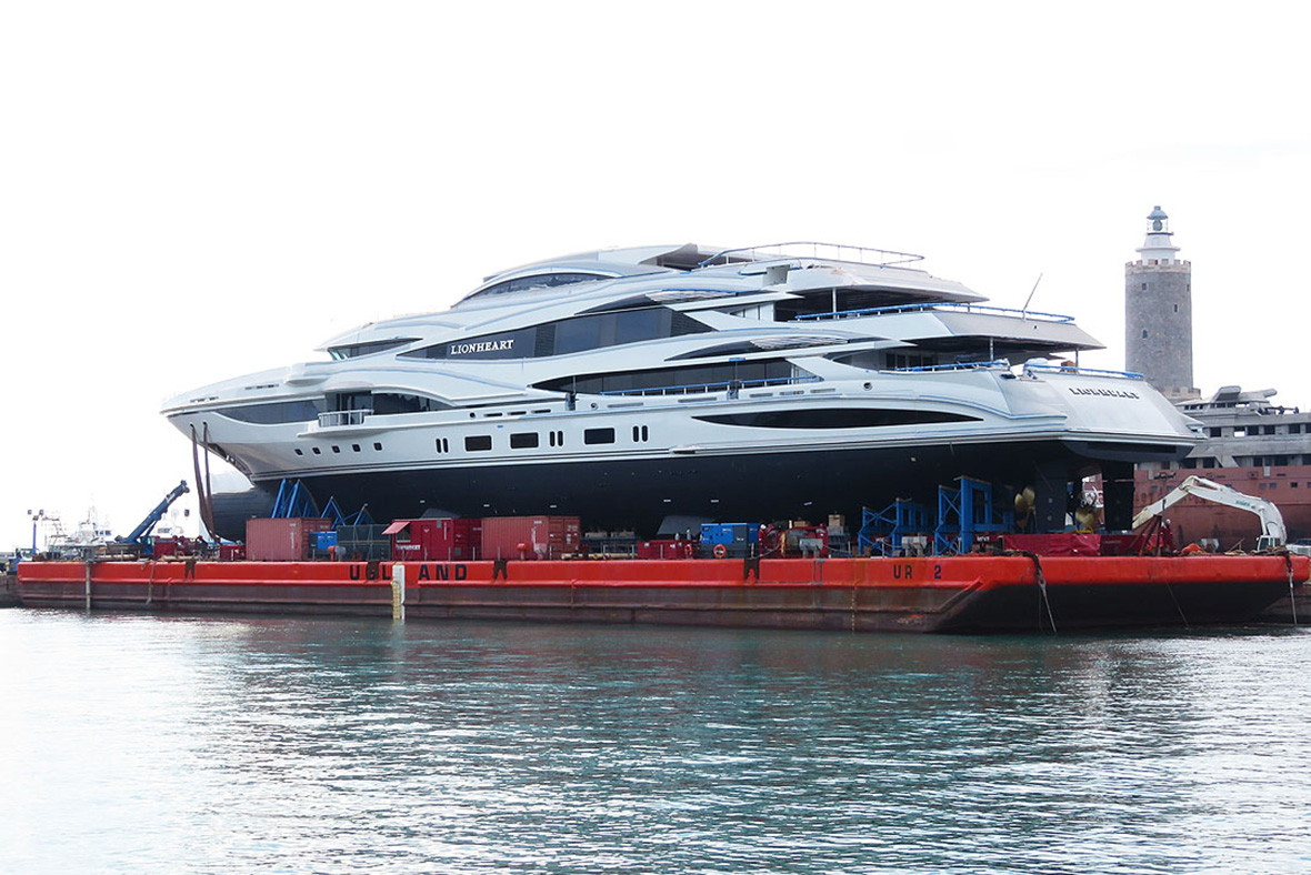 Philip Green yacht