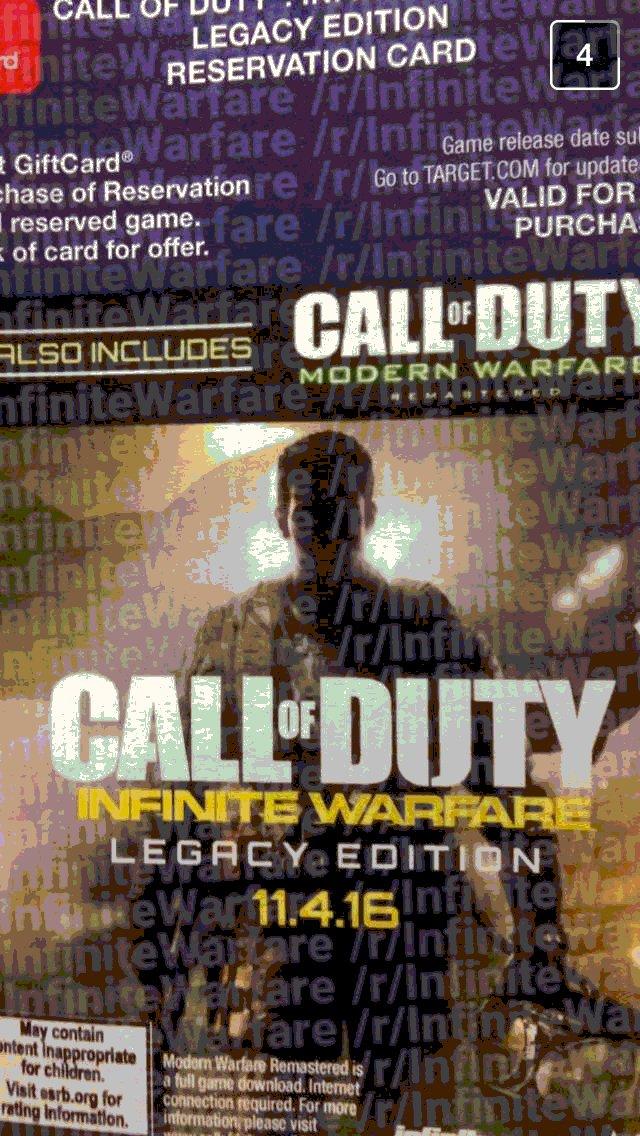 Call of Duty: Infinite Warfare art leak