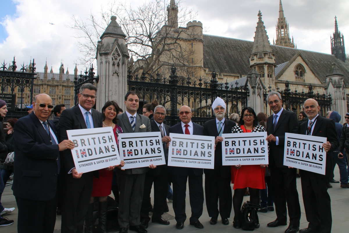 British Indians for IN campaign