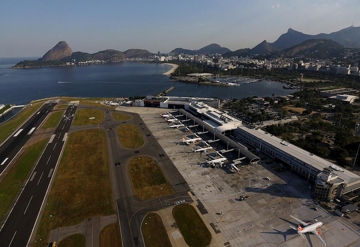 rio olympics 2016 aerial photos