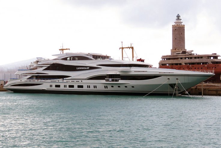 Philip Green yacht