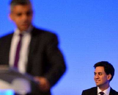 Ed Miliband and Sadiq Khan