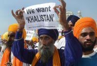 Sikh Khalistan protest
