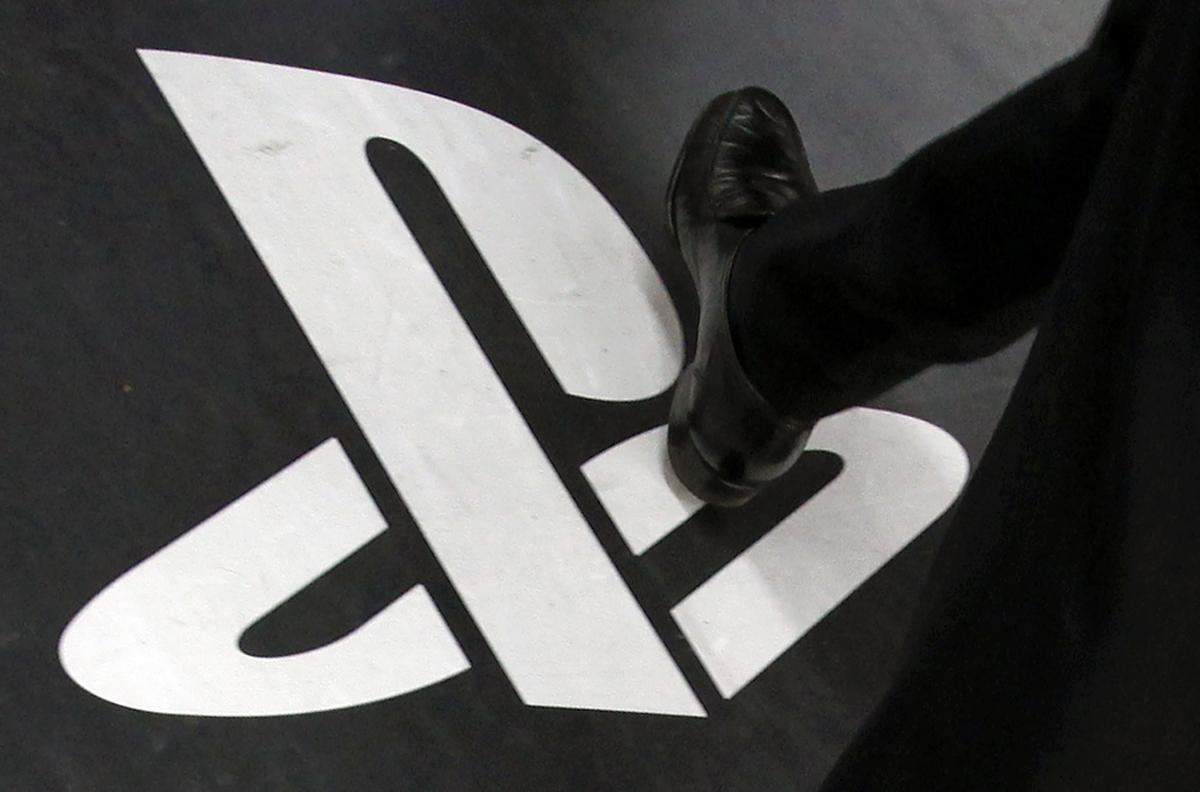 Sony Playstation logo theft