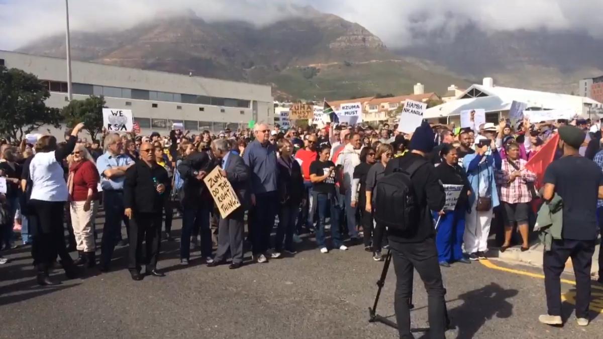 Zuma protests