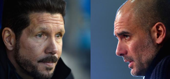 Simeone vs Guardiola