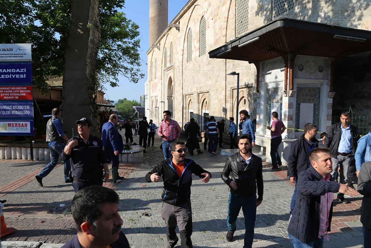 Bursa suicide bomb attack