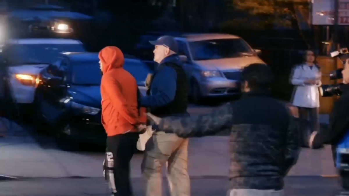 NYPD video shows biggest gang bust in New York history