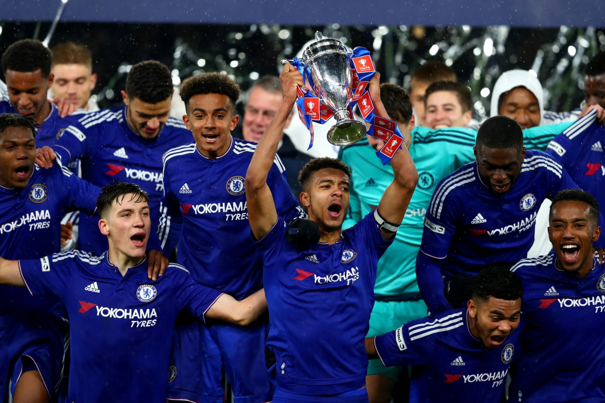 Chelsea dominance of youth football continues after third consecutive ...