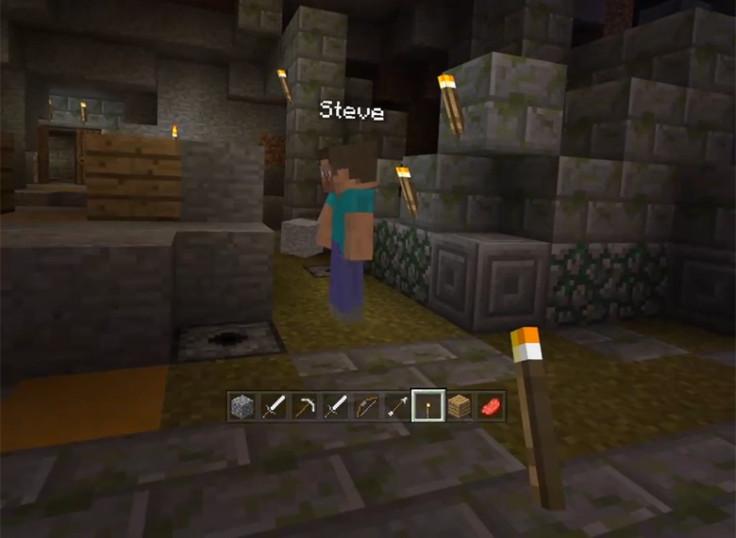 Minecraft Gear VR gameplay