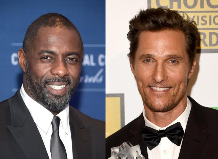 Idris Elba and Matthew McConaughey