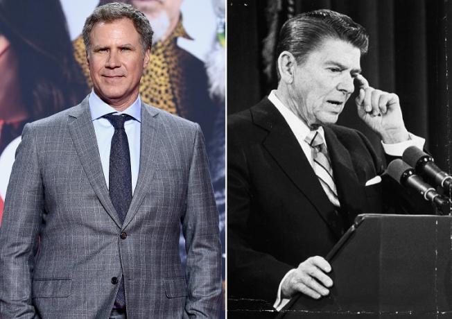 Will Ferrell, Ronald Reagan