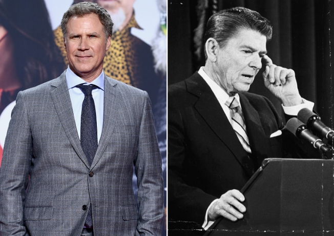 Will Ferell quits Ronald Reagan Alzheimer's comedy movie