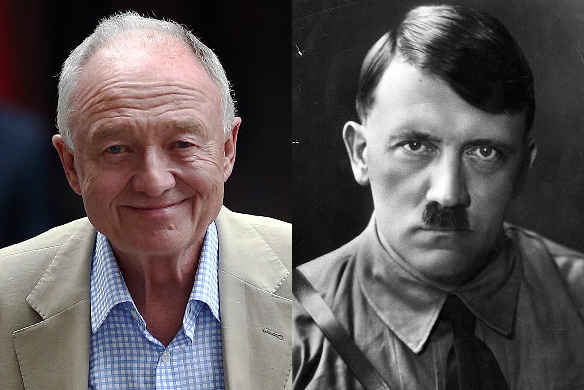 Ken Livingstone, Adolf Hitler