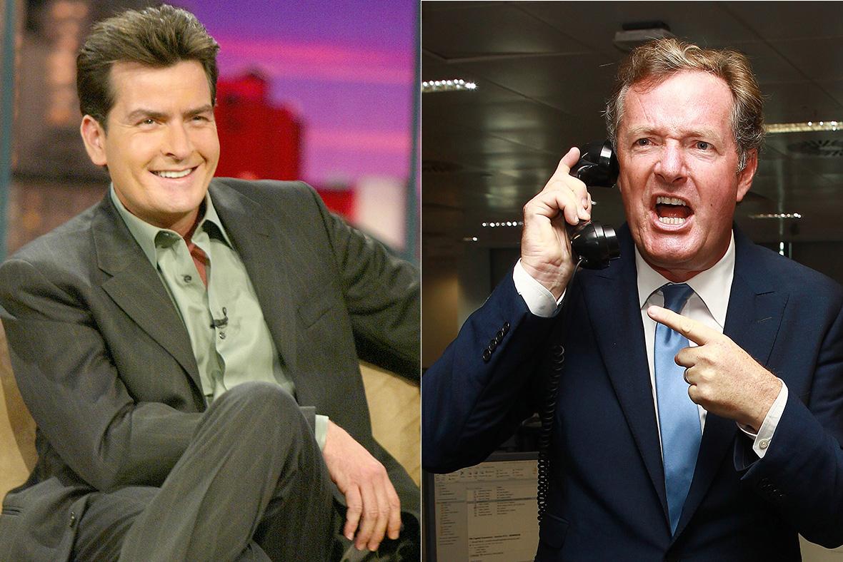 charlie Sheen Piers Morgan