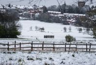 Snow in the UK