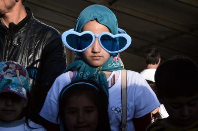 Refugee children
