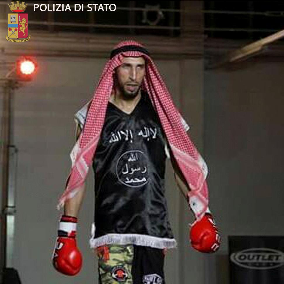 ISIS Kickboxer Moutaharrik Abderrahim
