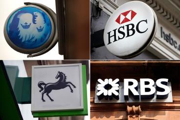 Barclays, HSBC, Lloyds, RBS