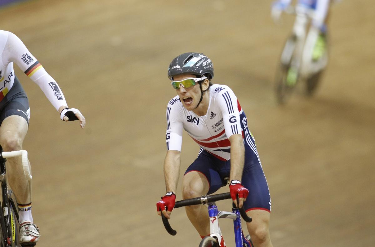 British cyclist Simon Yates