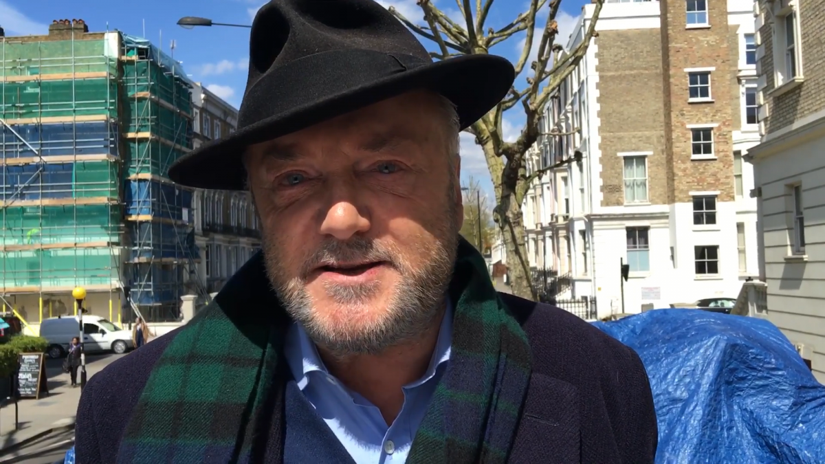 George Galloway rants about plans to 'overthrow Jeremy Corbyn as Labour Party leader'