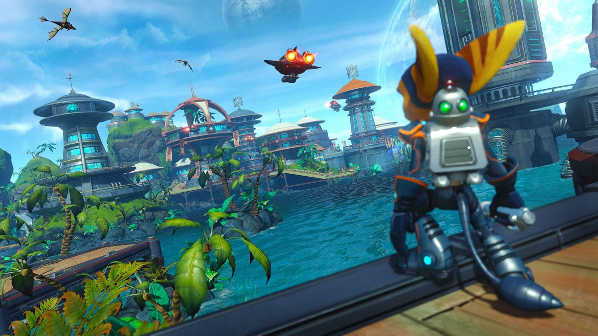 Ratchet And Clank Review Insomniac S Lovingly Made Remake Paves