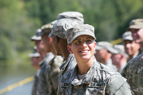 Capt. Kristen Griest makes history by becoming US army's first woman infantry officer