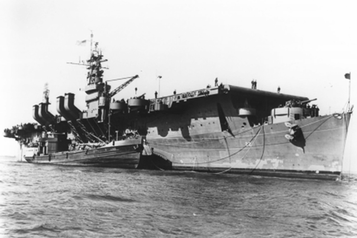 The USS Independence carried aircrafts