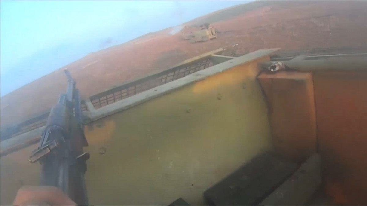 GoPro footage reveals horrific reality of what it's like to fight for Isis
