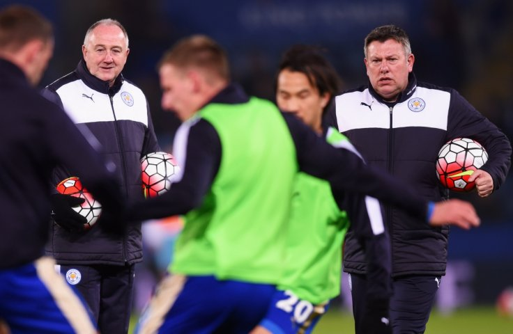 Steve Walsh and Craig Shakespeare