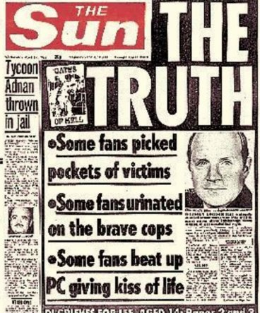 The Sun Hillsborough