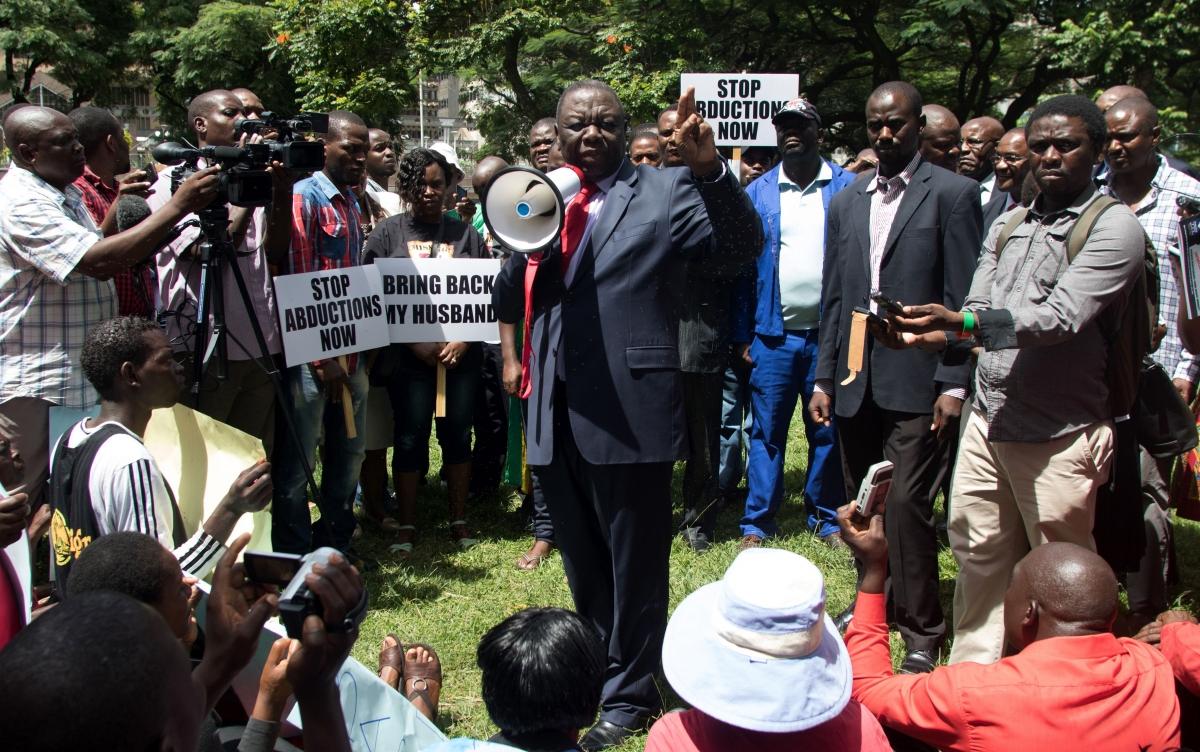 Morgan Tsvangirai, MDC-T